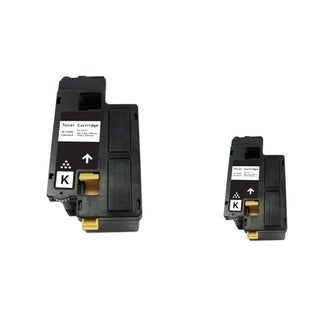 INSTEN 2-ink Black Cartridge Set for Dell 1250/ 1350/ 1355