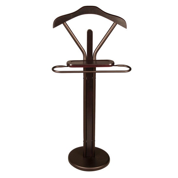 Richards Homewares Espresso Designer Valet Stand