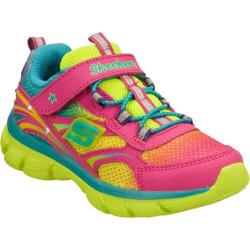Girls' Skechers S Lights Lite Dreamz 2 Little Lights Pink/Multi
