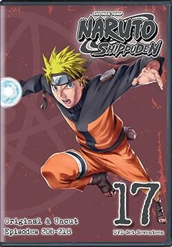 Naruto Shippuden Uncut Set 17 (DVD)