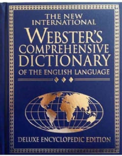 The New International Webster's Comprehensive Dictionary: Of the English Language (Hardcover)