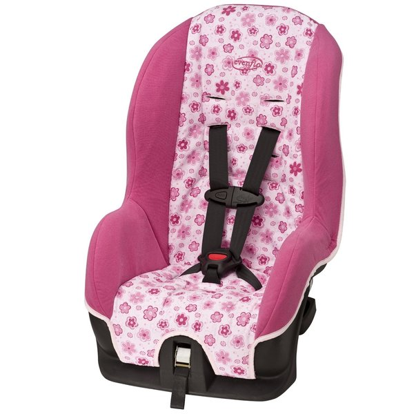 Evenflo Tribute Convertible Car Seat in Daisy Doodle