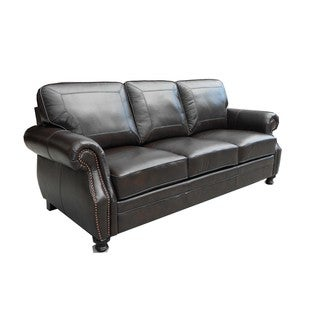 At Home Designs Laredo Dark Chocolate Sofa
