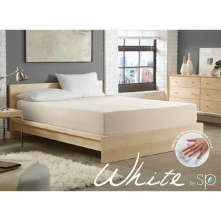 WHITE by Sarah Peyton 8-inch Convection Cooled Plush Full-size Memory Foam Mattress
