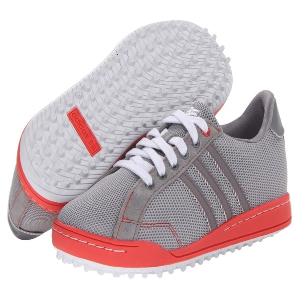 Adidas Women's Adicross II Mesh Grey/ Coral Golf Shoes