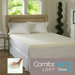 Beautyrest 4-inch Memory Foam Mattress Topper