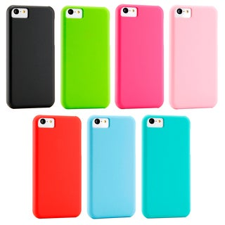 Gearonic Ultra Thin Slim Matte Rubberized PC Case Cover for iPhone 5C