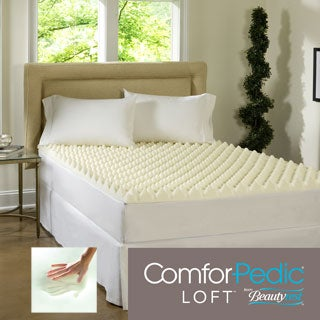 Beautyrest Big Bump 3-inch Convoluted Memory Foam Topper
