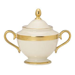 Lenox Lowell 24K Gold Accent Sugar Bowl