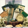 Holiday Cheese Delights Christmas Gift Basket