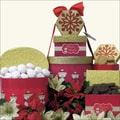 Christmas Snowman Holiday Christmas Gift Tower