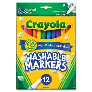Fine Point Classic Colors Washable Markers Set of 12