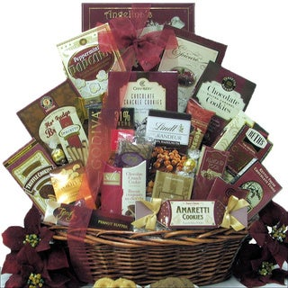 Peace & Prosperity Large Chocolate Holiday Christmas Gift Basket