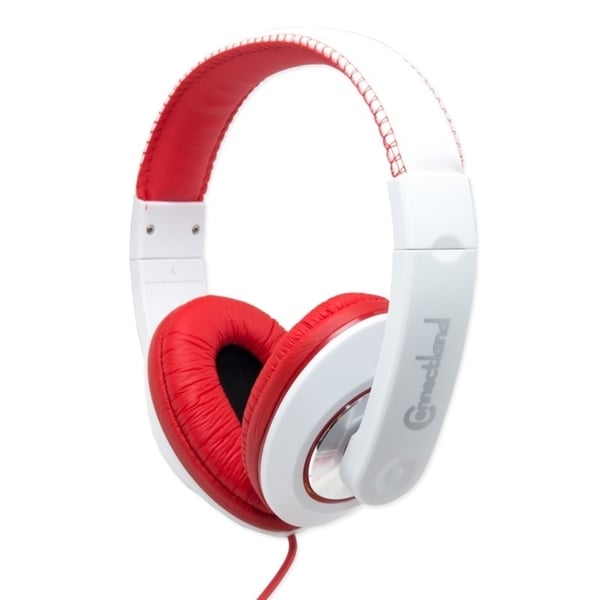 Connectland Red Fashionable Stereo Headset