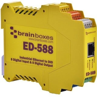 Brainboxes ED-588 Ethernet to Digital IO 8 Inputs + 8 Outputs
