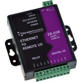 Brainboxes ED-038 Ethernet to Digital IO Relay