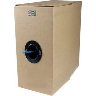 StarTech.com 1000 ft Bulk Roll of Blue CMR Cat 6 Solid UTP Riser Cabl