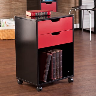 Upton Home Camden 2-Drawer Mobile Multipurpose Storage Cabinet