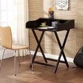 Upton Home Marion Black Folding Craft/ Student Desk/ Table
