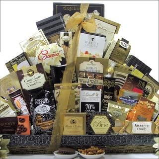 The Holiday VIP Gourmet Holiday Christmas Gift Basket