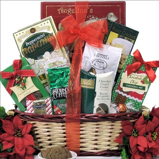 Tidings of Joy Small Gourmet Holiday Christmas Gift Basket
