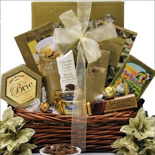 Holiday Delights Gourmet Holiday Christmas Gift Basket