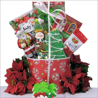 Santa! Children's Holiday Christmas Gift Basket