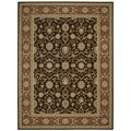 Nourison Persian Crown Dark Brown Rug (3'9 x 5'9)
