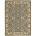 Nourison Persian Crown Blue Area Rug (5'3 x 7'4)