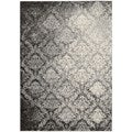 kathy ireland Home Santa Barbara Grey Area Rug (5'3 x 7'5)