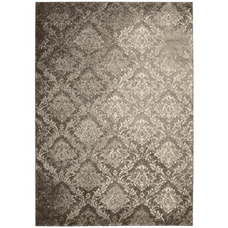 kathy ireland Home Santa Barbara Beige Brown Area Rug (7'10 x 10'10)