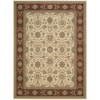 Nourison Persian Crown Cream Area Rug (3'9 x 5'9)