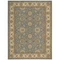 Nourison Persian Crown Blue Rug (7'10 x 10'6)