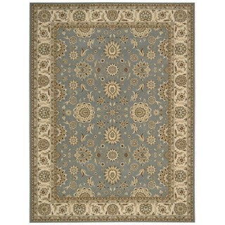Nourison Persian Crown Blue Rug (9'3 x 12'9)
