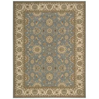 Nourison Persian Crown Blue Rug (9'3 x 12'9)