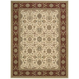 Nourison Persian Crown Cream Rug (9'3 x 12'9)