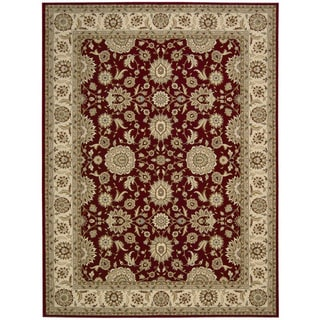 Nourison Persian Crown Red Rug (9'3 x 12'9)