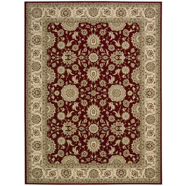 Nourison Persian Crown Red Rug (1'11 x 2'11)