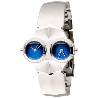 Android Men's Alien AD52LTD Silvertone Quartz Watch with Blue Dial