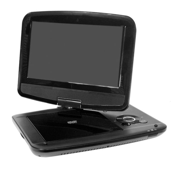 "Verezano PDVD-12309C 9.0"" Swivel Screen Portable DVD Player"