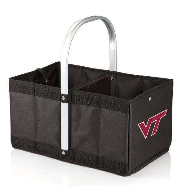 Picnic Time Black Virginia Tech Hokies Urban Basket