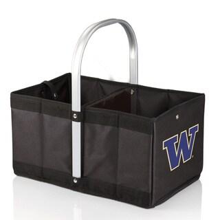 Picnic Time University of Washington Huskies Black Urban Basket