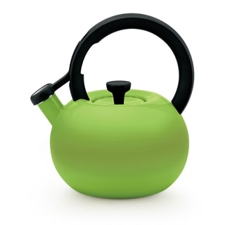 Circulon 'Circles' Kiwi Green Enameled Stainless Steel 2-quart Tea Kettle