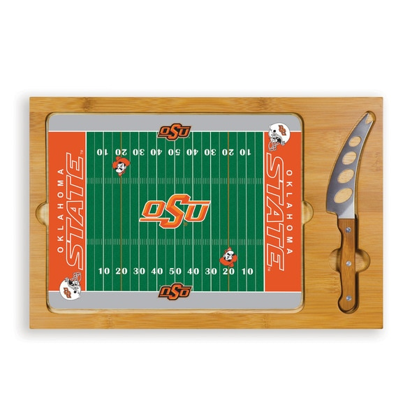 Picnic Time Oklahoma State University Cowboys Icon Cheese Tray 11799338