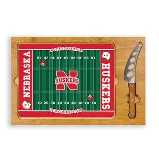 Picnic Time University of Nebraska Cornhuskers Icon Cheese Tray