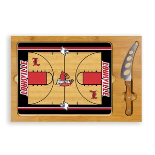 Picnic Time University of Louisville Cardinals Icon Cheese Tray