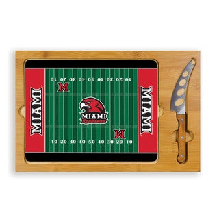 Picnic Time Miami University (Ohio) Redhawks Icon Cheese Tray