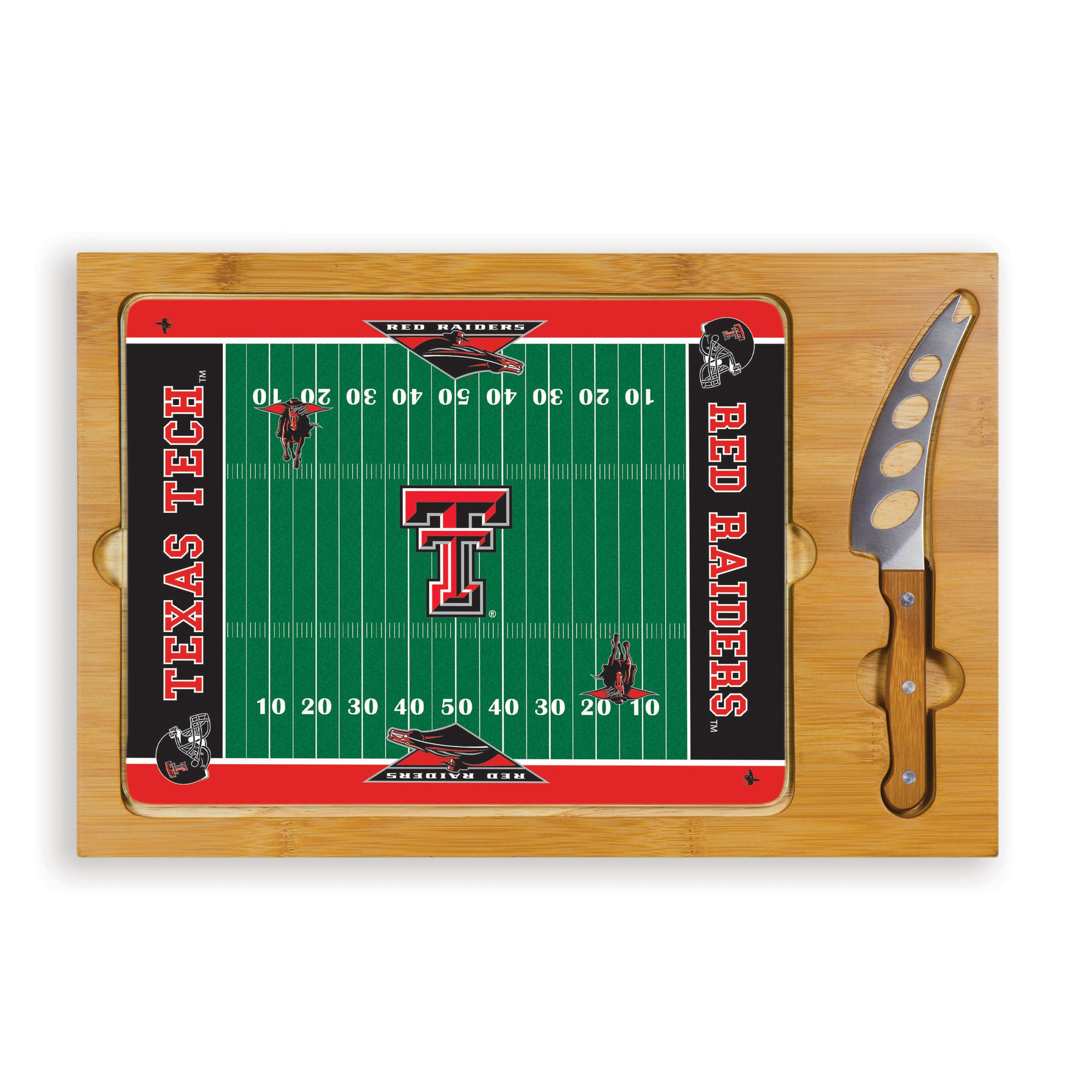 Picnic Time Texas Tech University Red Raiders Icon Cheese Tray at Sears.com