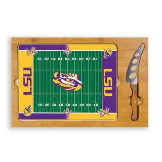 Picnic Time Louisiana State University Tigers Icon Cheese Tray