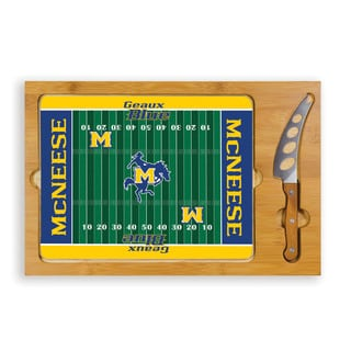Picnic Time McNeese State University Cowboys Icon Cheese Tray